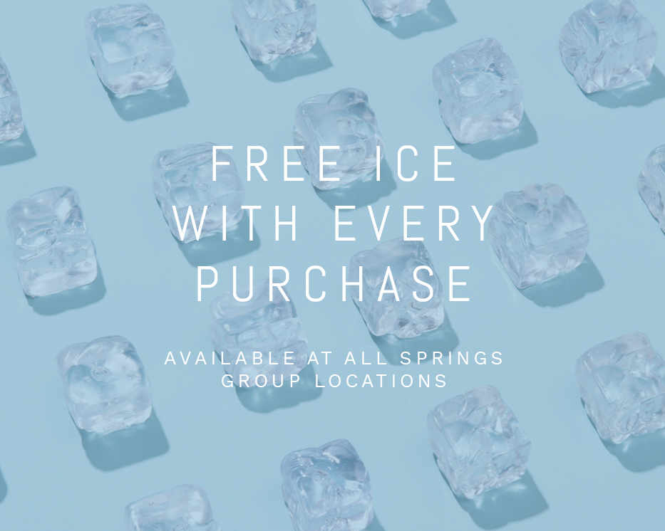 Free ice with every purchase