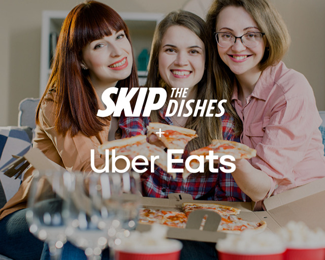 Skip the Dishes & Uber Eats