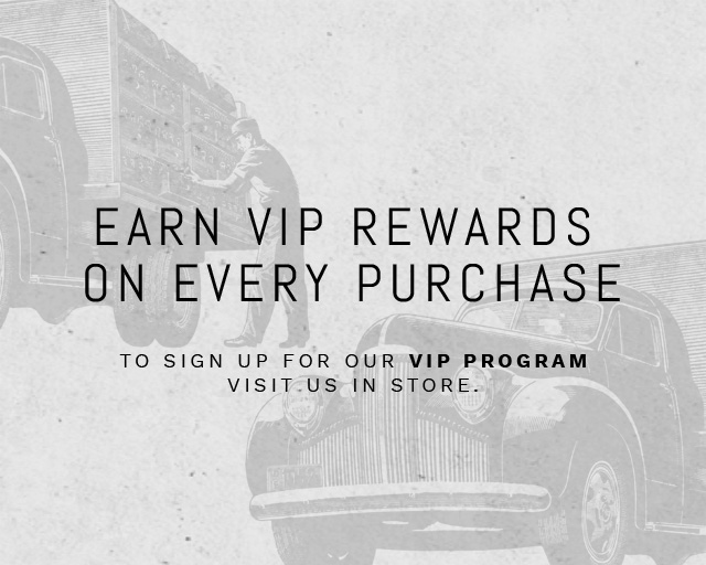 Earn VIP rewards with every purchase