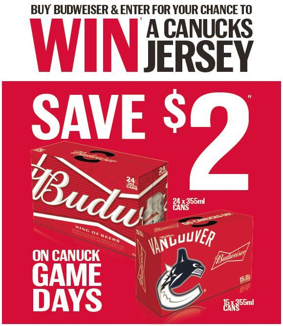 Win a Canucks Jersey at Participating Springs Group Locations