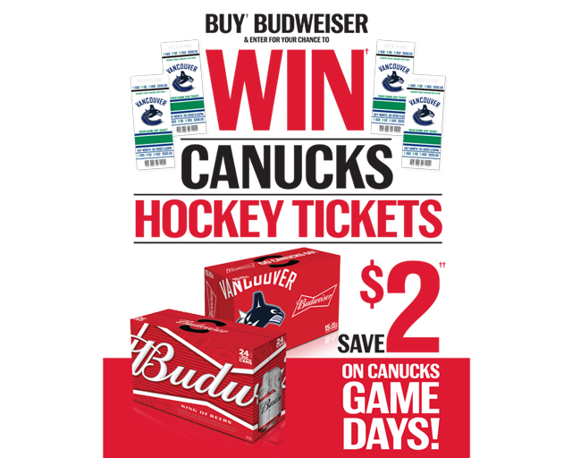 Win Canucks Hockey Tickets