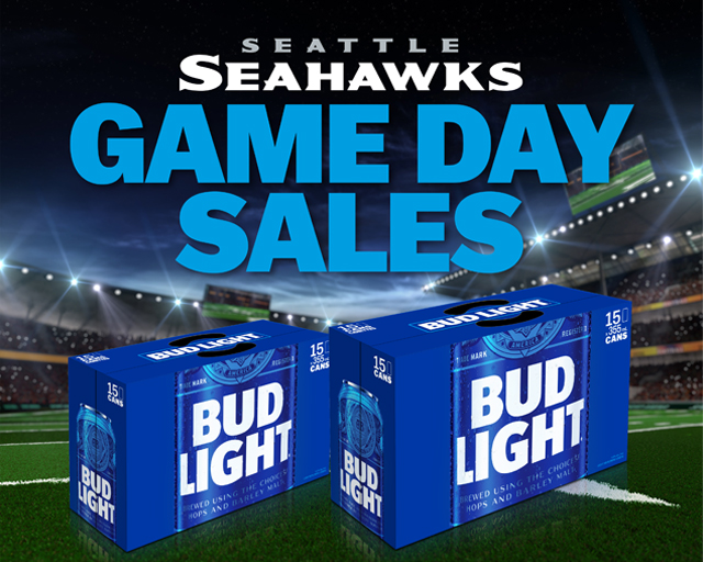 Seahawks Game Day Sales