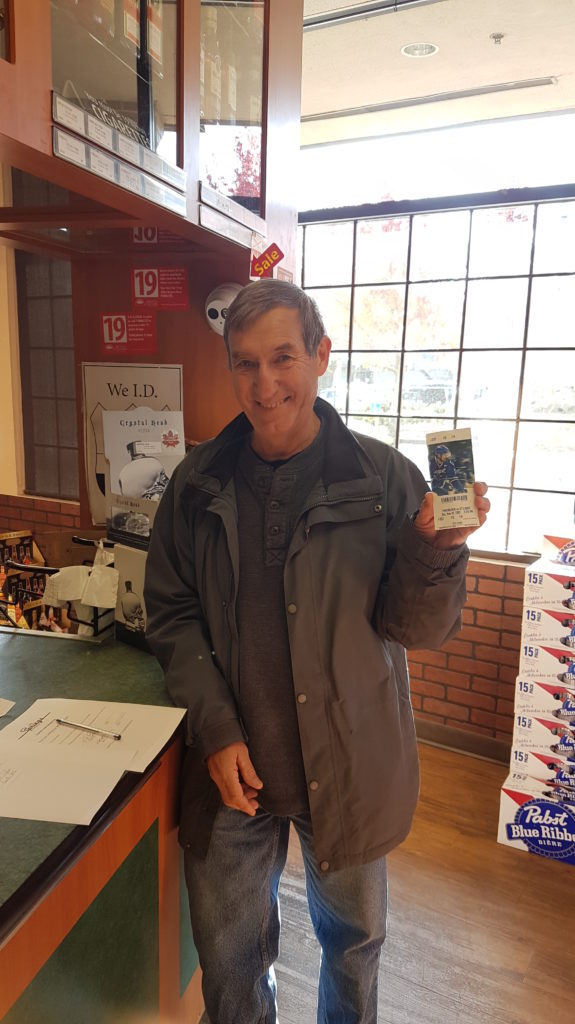 Ross Evans - Canucks Tickets Winner