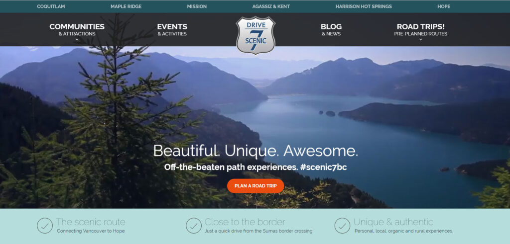 Scenic 7 Website