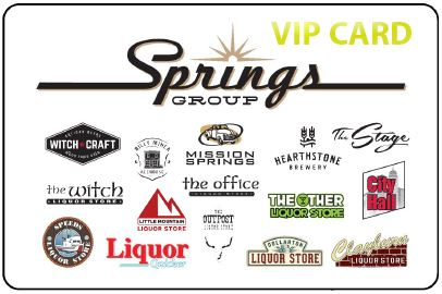 Springs Group VIP Card