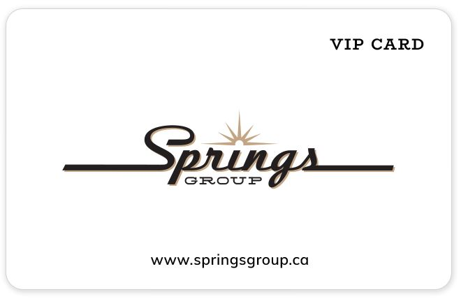 New Springs group VIP Card 2019