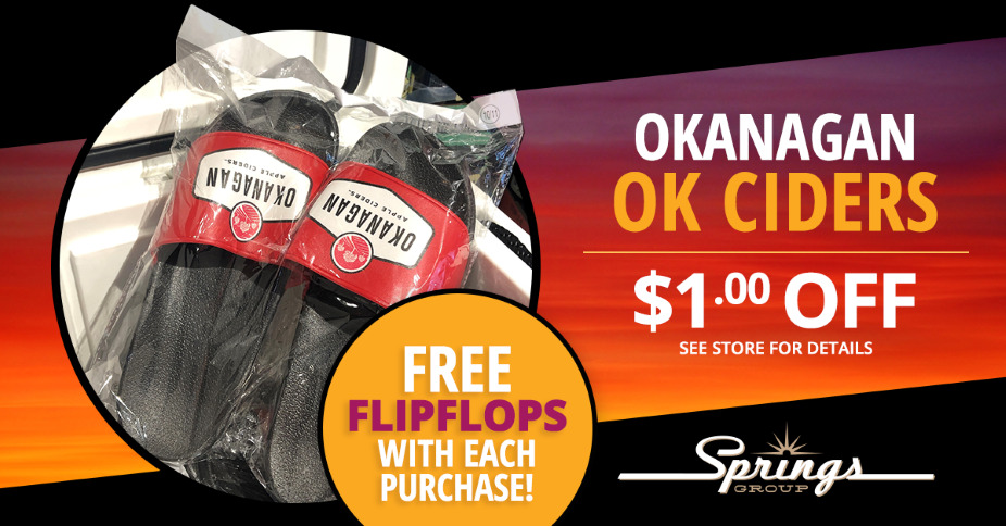 OK Ciders Flip-Flop Sandals Giveaway