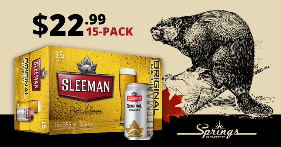 Sleeman Beer Sale