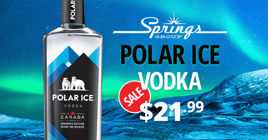 Vodka Sale deal - Polar Ice Vodka