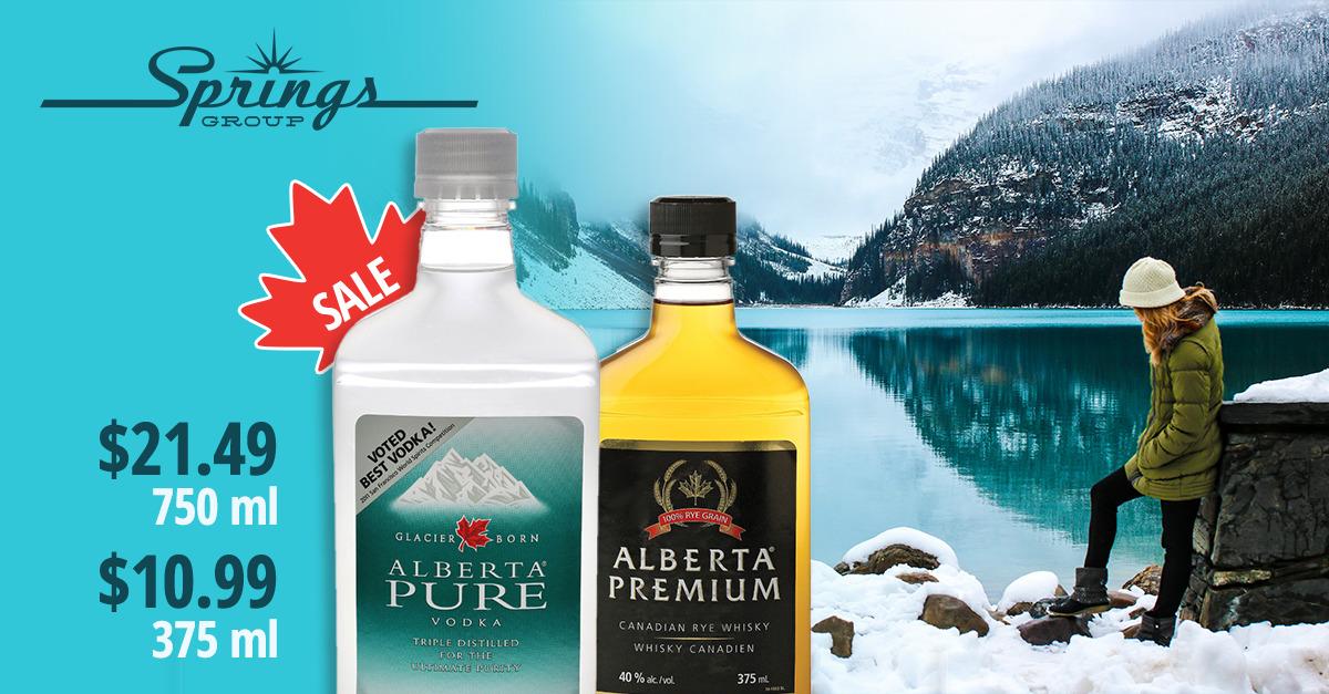 Alberta Pure sale promo