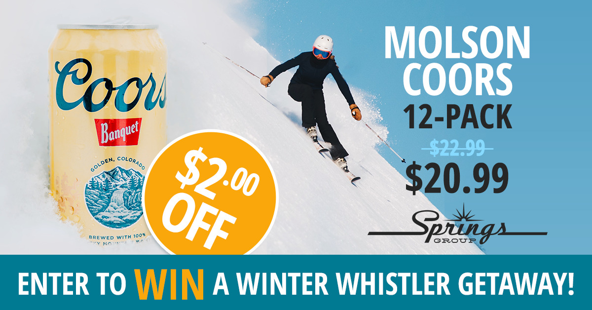 Whistler winter getaway contest