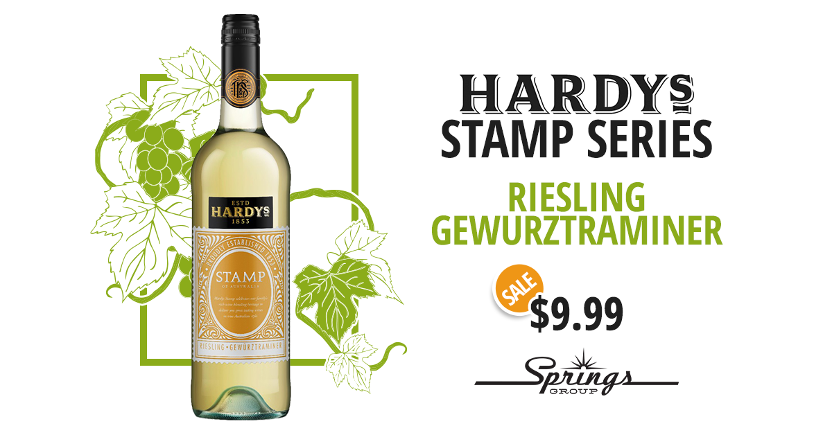 Hardy's White Wine Sale