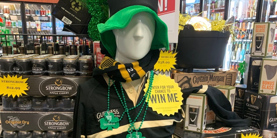 Guinness Glass and Soccer Jersey Shirt Giveaway