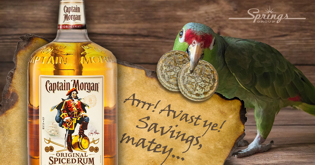 Captain Morgan Rum Sale Special and Floatie Prize Giveaway