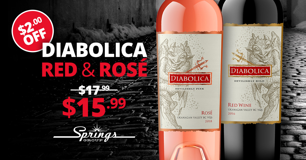 Red Wine Sale Special - Diabolica