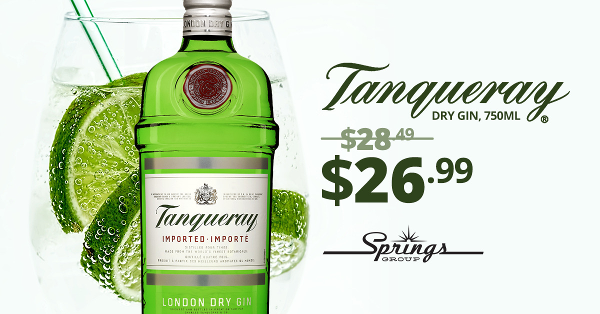 Tanqueray Gin Sale Special