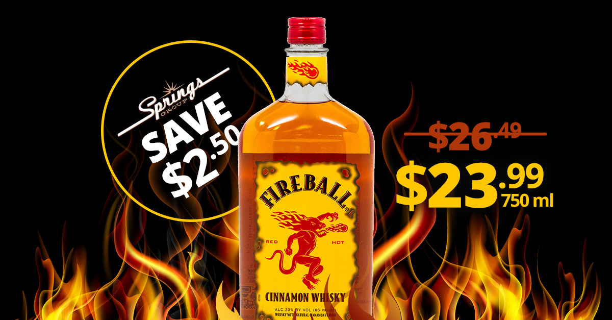 Fireball spiced rum