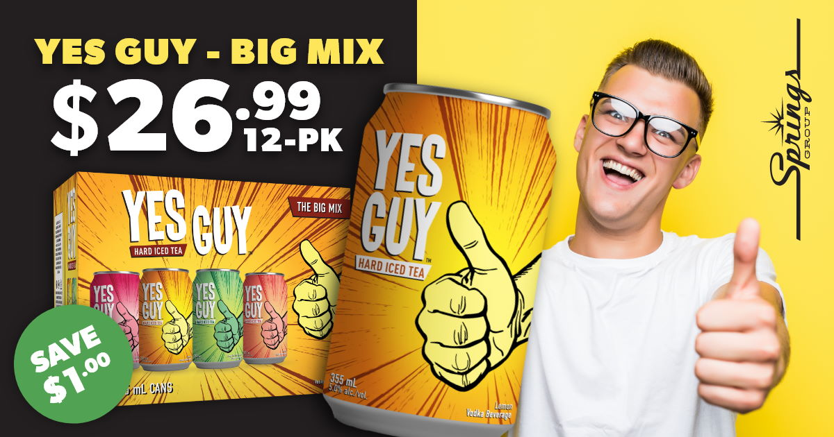 Yes Guy mixer pack