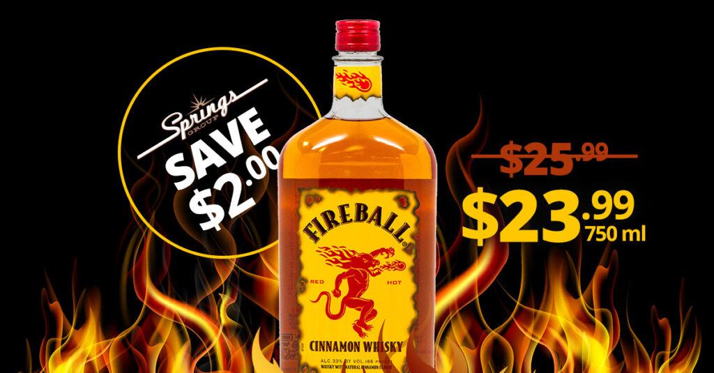 Fireball on sale