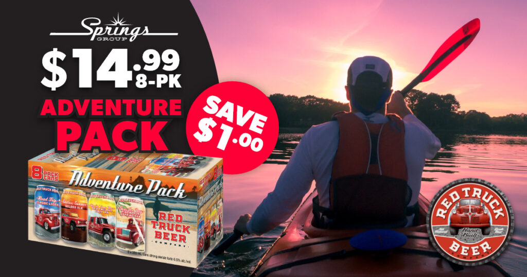 Red Truck Adventure Pack on sale